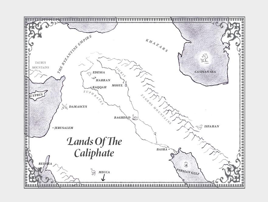 The Map Howard Andrew Jones border=