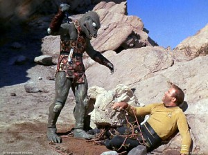 Matthew, this is a Gorn. Note opposable thumbs.