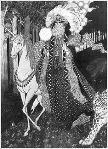 More Lord Dunsany inspired art by Sidney Sime.